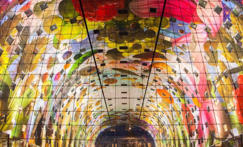 Markthal à Rotterdam photos libres de droits
