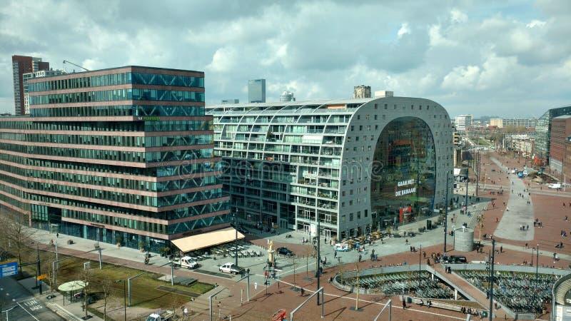 Markthal Rotterdam imagenes de archivo