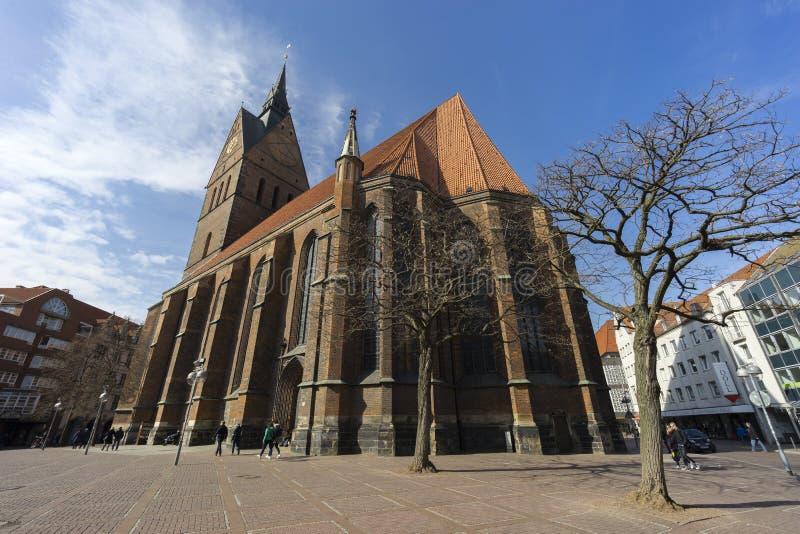 Marktkirche στο Αννόβερο, Γερμανία στοκ εικόνα