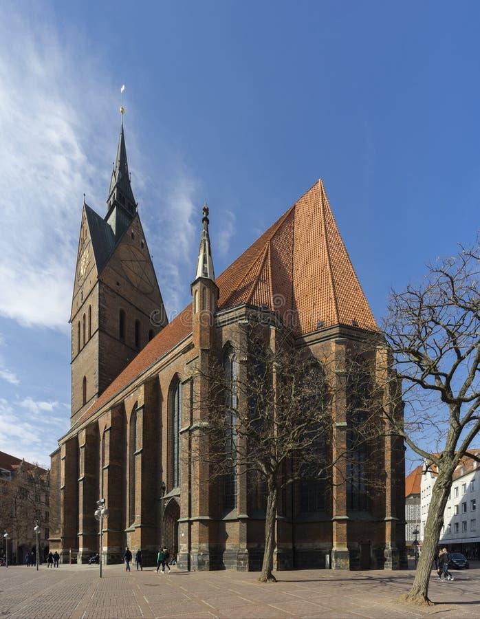 Marktkirche στο Αννόβερο, Γερμανία στοκ εικόνες