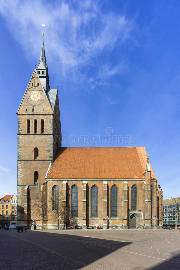 Marktkirche στο Αννόβερο, Γερμανία στοκ φωτογραφία