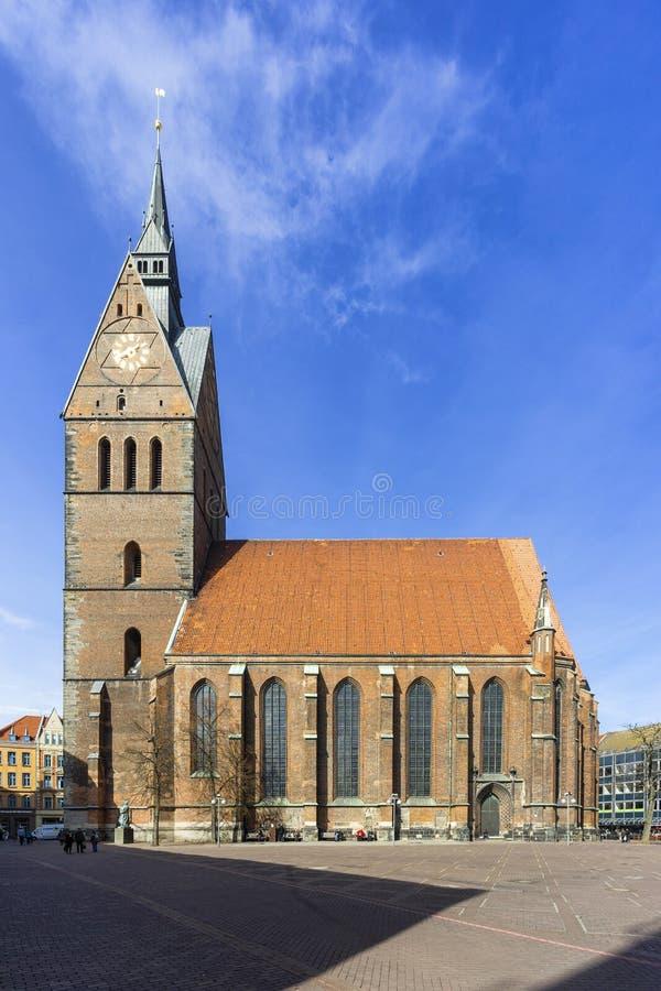 Marktkirche in Hanover, Duitsland stock fotografie