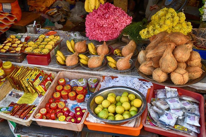 Marktkraam stock afbeeldingen