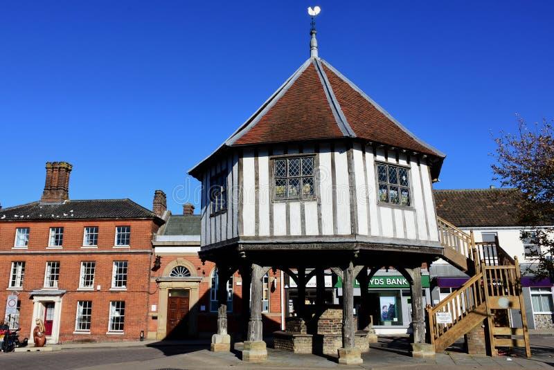 Marktkruis, Wymondham, Norfolk, Engeland royalty-vrije stock afbeelding