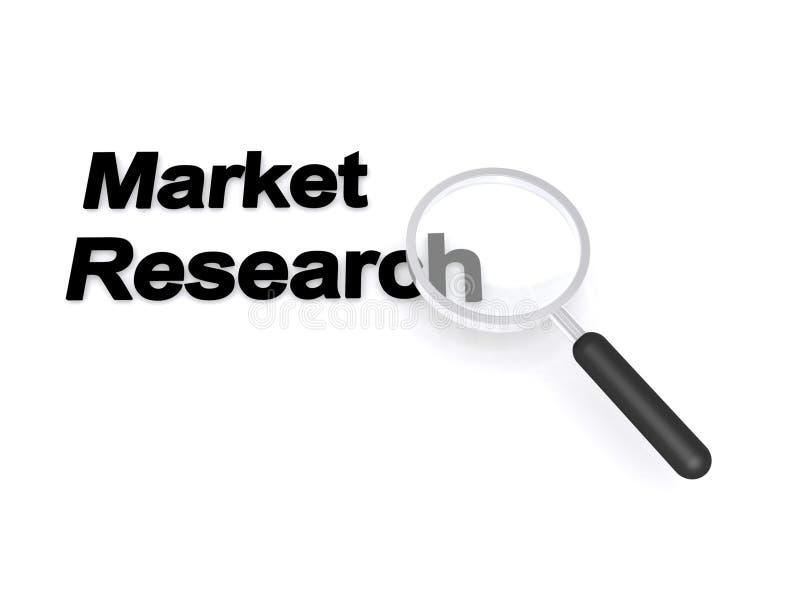 Marktonderzoek royalty-vrije illustratie