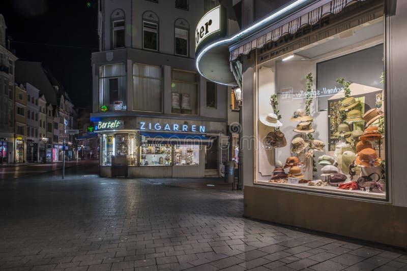 Marktplaats, Bonn, Duitsland stock afbeelding