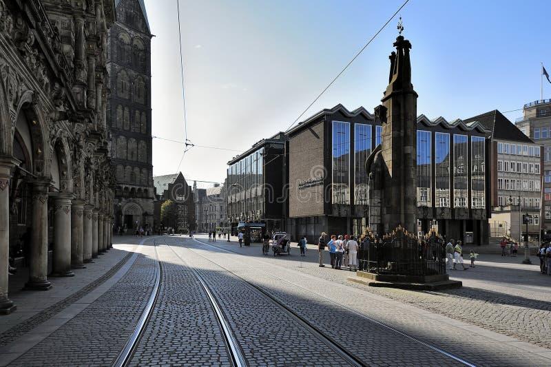 Marktplatz, Bremen, Deutschland stockfoto