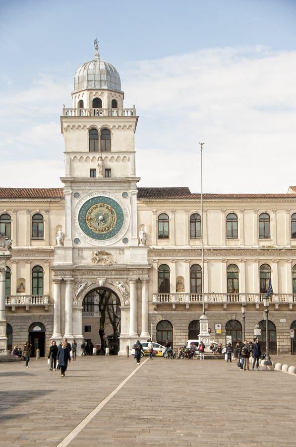 Marktplatz dei Signori Padua lizenzfreies stockfoto