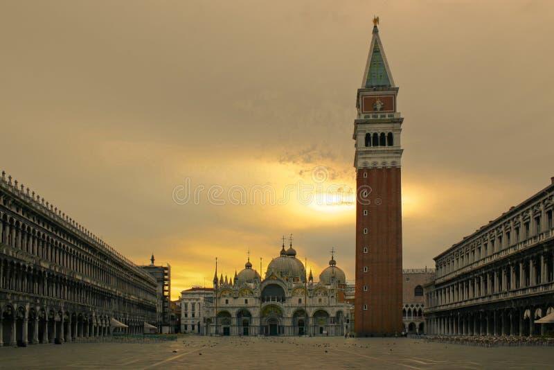Marktplatz San Marco stockfotografie