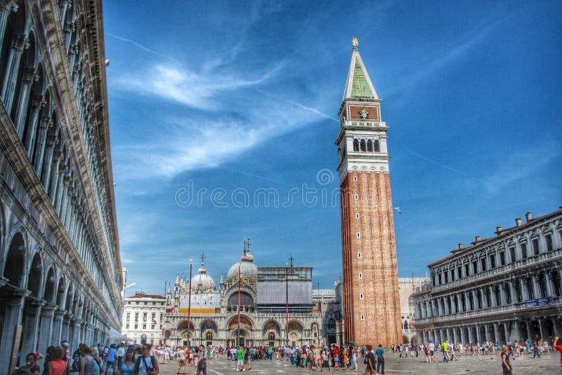 Marktplatz San Marco lizenzfreie stockbilder