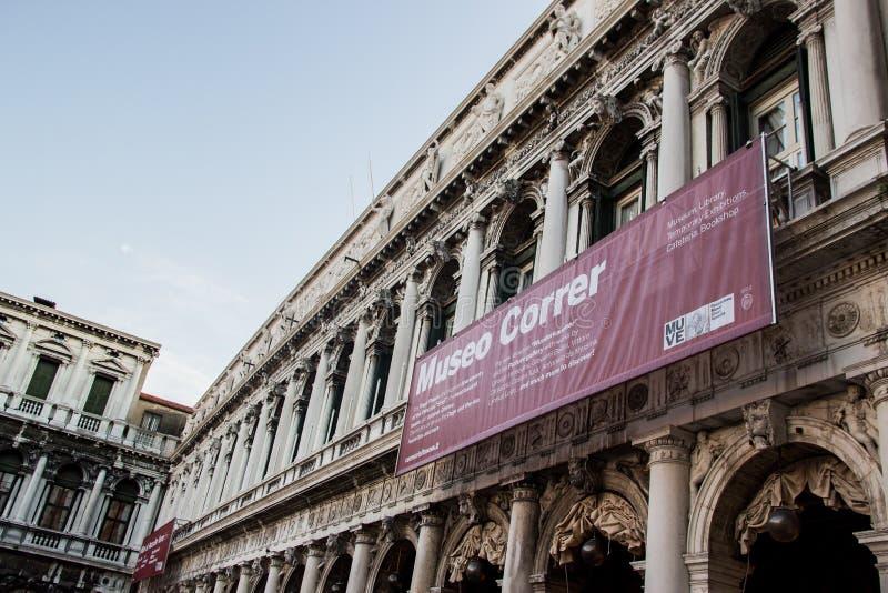Marktplatz San marco Venedig lizenzfreies stockfoto