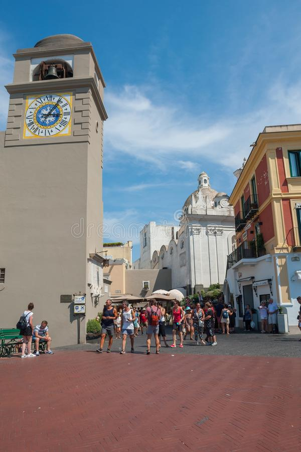 Marktplatz Umberto I lizenzfreies stockbild