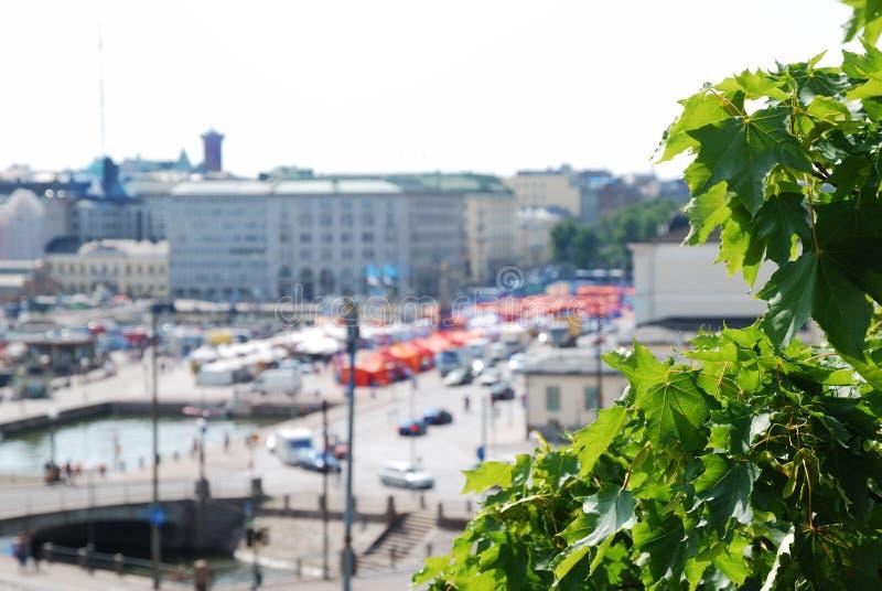 Marktquadrat von Helsinki lizenzfreie stockfotografie
