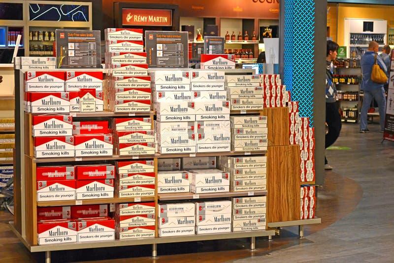 Marlboro-Zigaretten stockfotografie