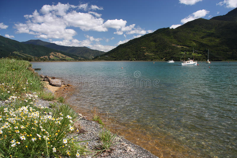 Download Marlborough stock photo. Image of white, oceania, blue - 14851266