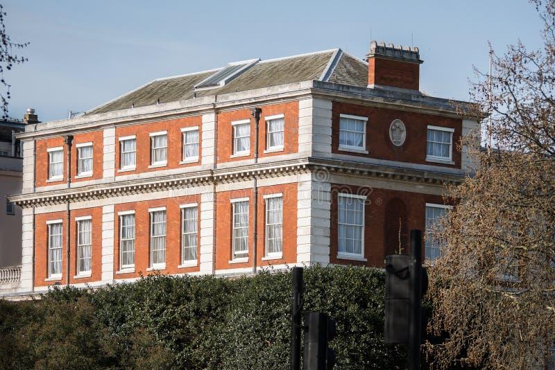 Marlborough dom zdjęcie royalty free