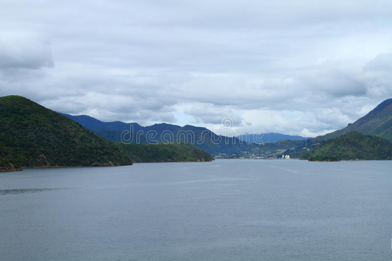 Download Marlborough Sounds stock image. Image of scenic, green - 27661035