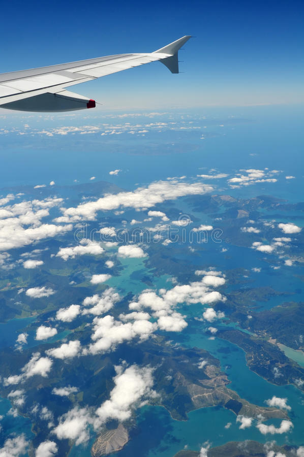 Download Marlborough Sounds & Picton, Aerial, New Zealand Royalty Free Stock Images - Image: 22304669