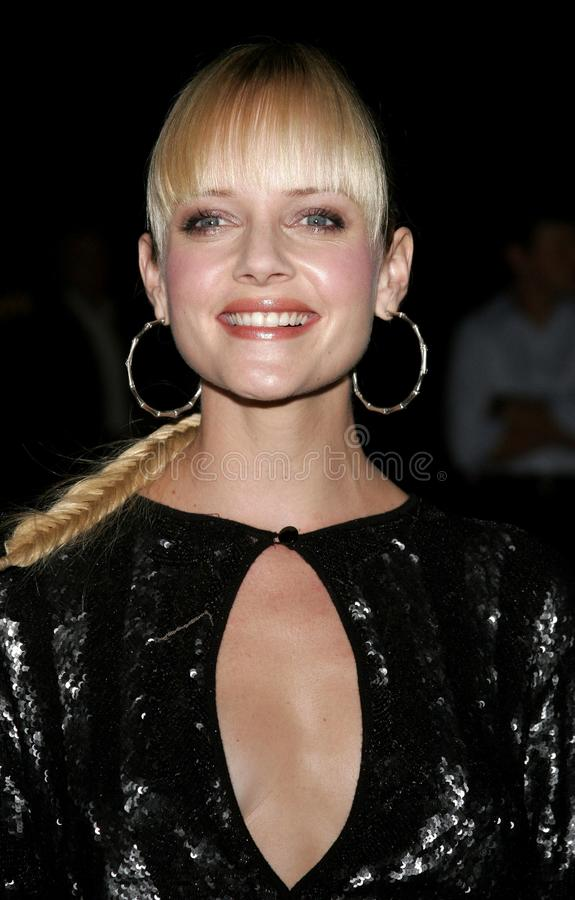 Marley Shelton. HOLLYWOOD, CALIFORNIA. Wednesday September 13, 2006. Marley Shelton attends the Los Angeles Premiere of `The Last Kiss` held at the Directors royalty free stock photo