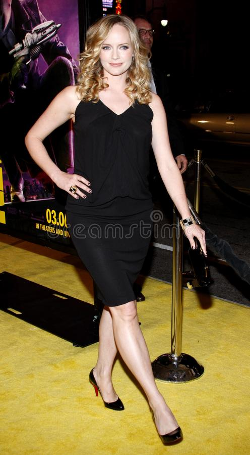 Marley Shelton. At the Los Angeles Premiere of `Watchmen` held at the Grauman`s Chinese Theater in Hollywood, California, United States on March 3, 2009 stock photography