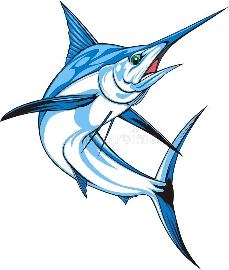 marlin illustration de vecteur