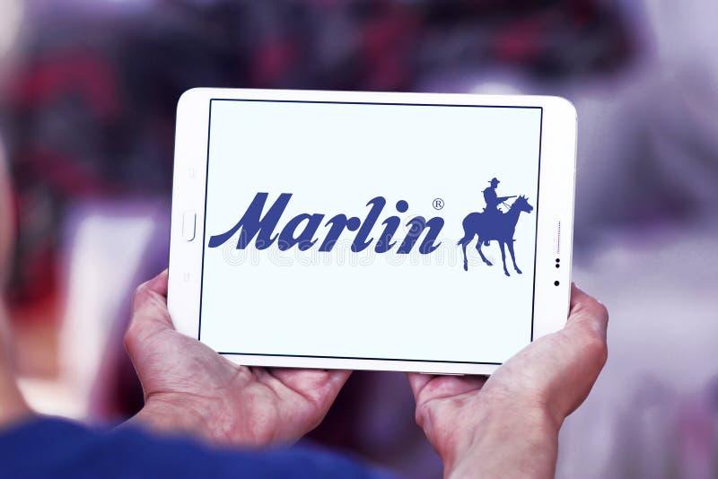 Marlin Firearms logo royaltyfria foton