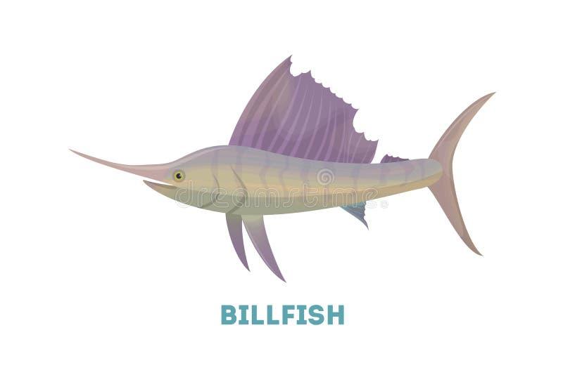 Marlin ryba ilustracji