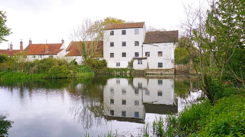 Marlingford watermill. Marlingford watermill is a historical mill dating as far back as the 1700`s. It was refurbished in the 1800`s and sits on the river Yare stock images