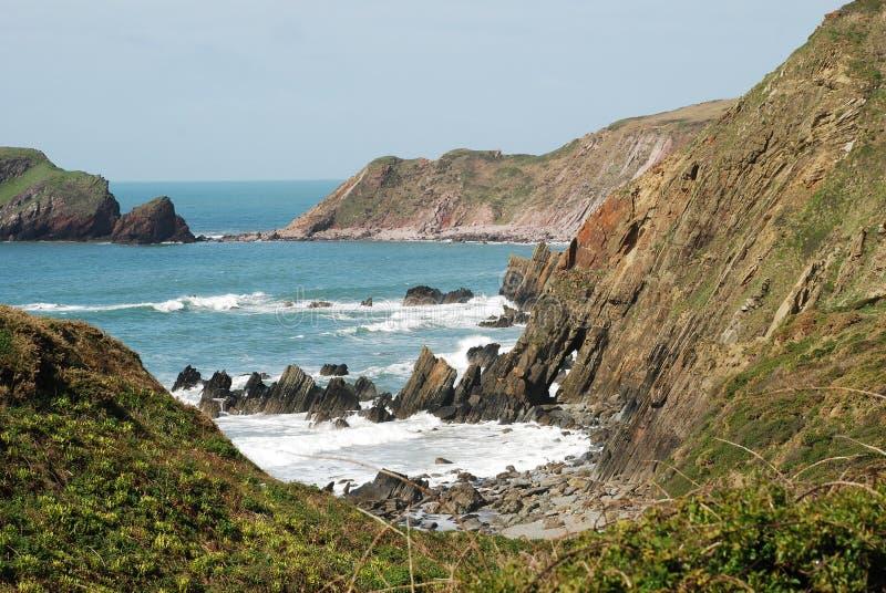 Marloes piaski, Pembrokeshire zdjęcia stock