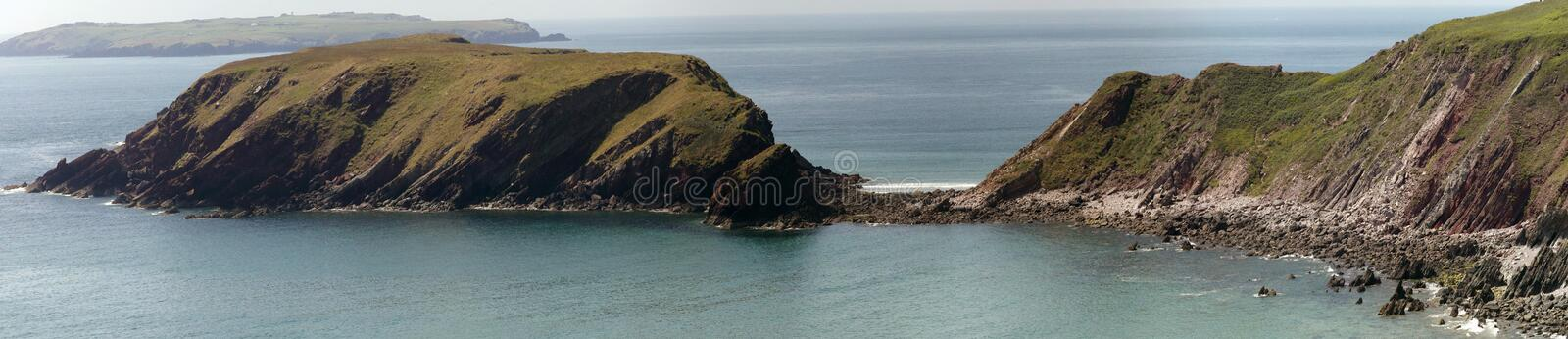 Download Marloes sands stock image. Image of national, cliffs - 15566301