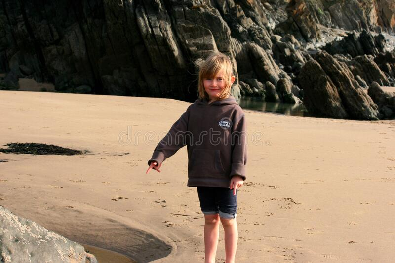 Marloes Sands royalty free stock image