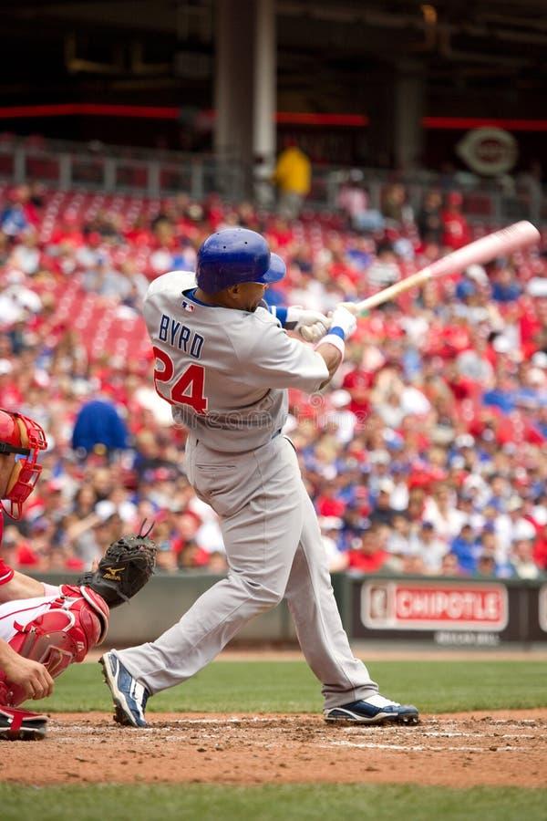 Download Marlon Byrd Swings editorial image. Image of swing, blue - 18287670