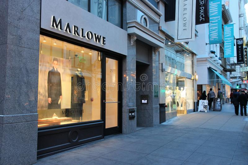 Marlowe moda fotografia stock