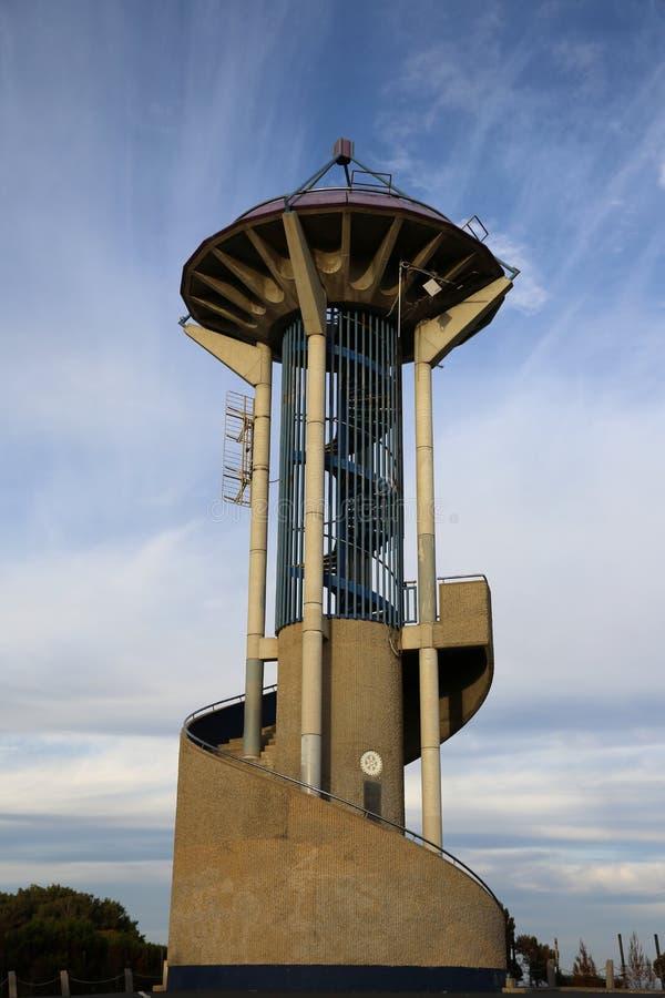 Marlston wzgórza punktu obserwacyjnego wierza zdjęcia stock