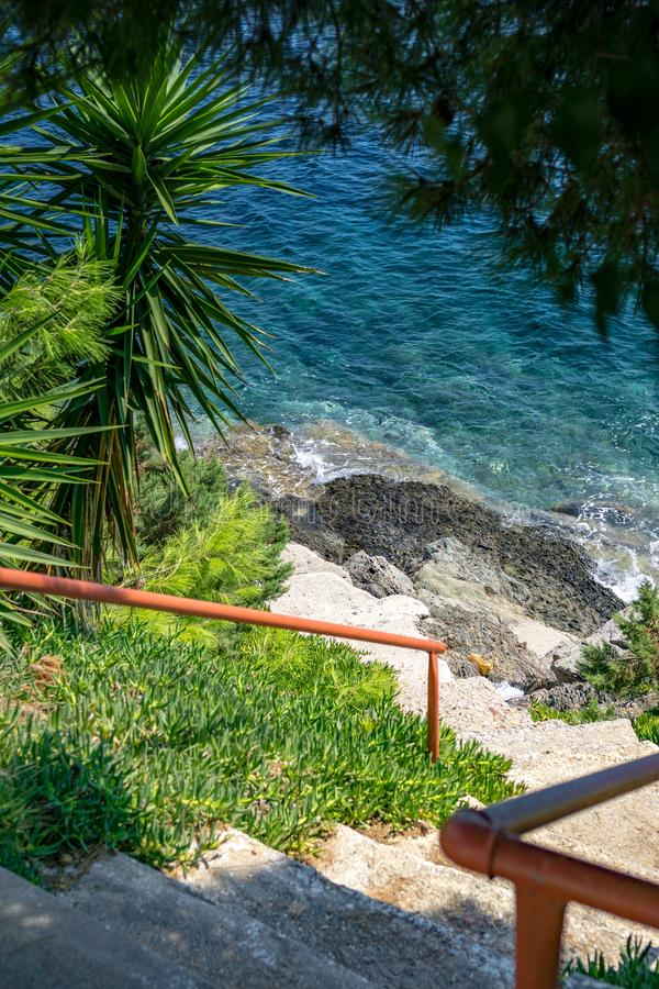 Marmaras kroki morze fotografia royalty free