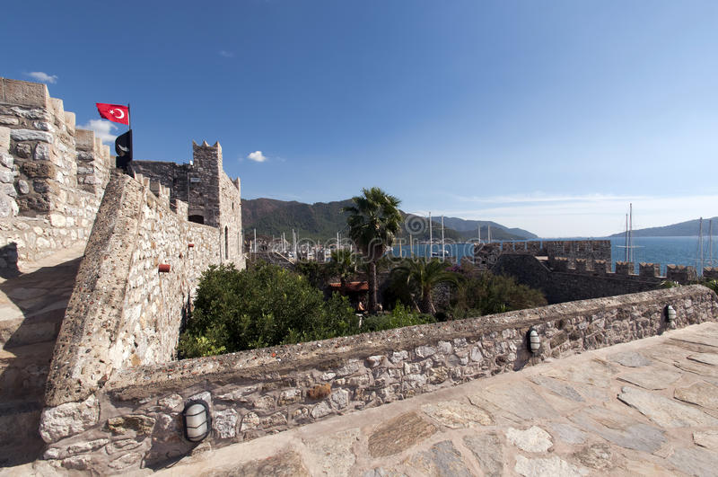 Marmaris Castle Stock Photography
