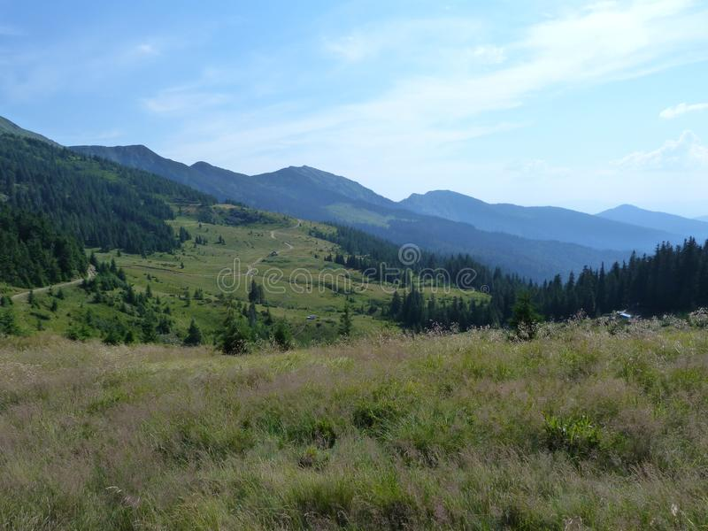 Marmaros山脉 免版税库存图片