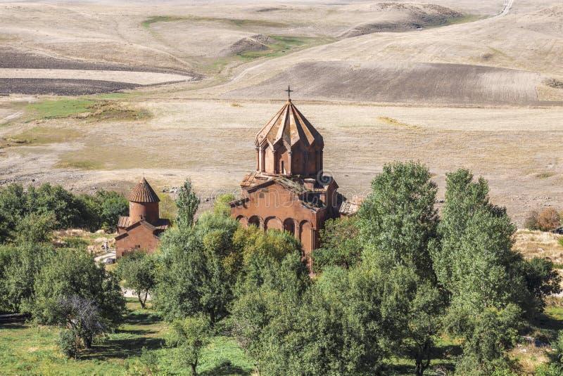 Marmashen monaster w Armenia, lokalizować w Shirak regionie obraz stock