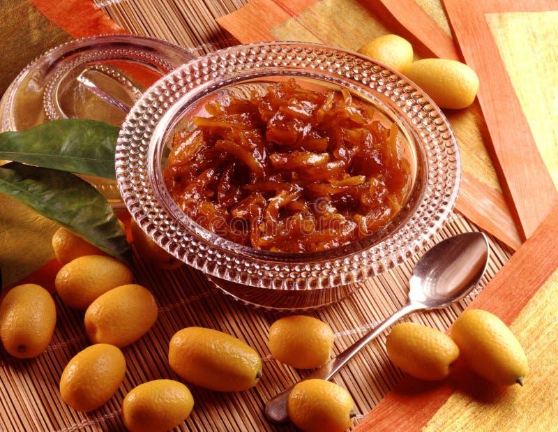 Marmelade de Kumkuat photo stock