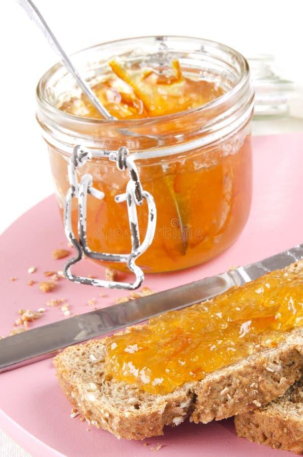Marmellata di arance irlandese del whiskey immagine stock