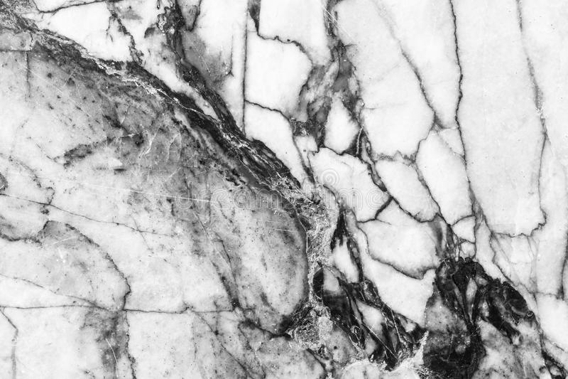 Marmer gevormde Zwart-witte textuurachtergrond,