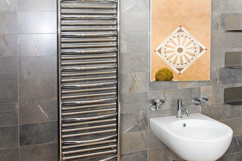 Marmeren badkamers royalty-vrije stock afbeeldingen