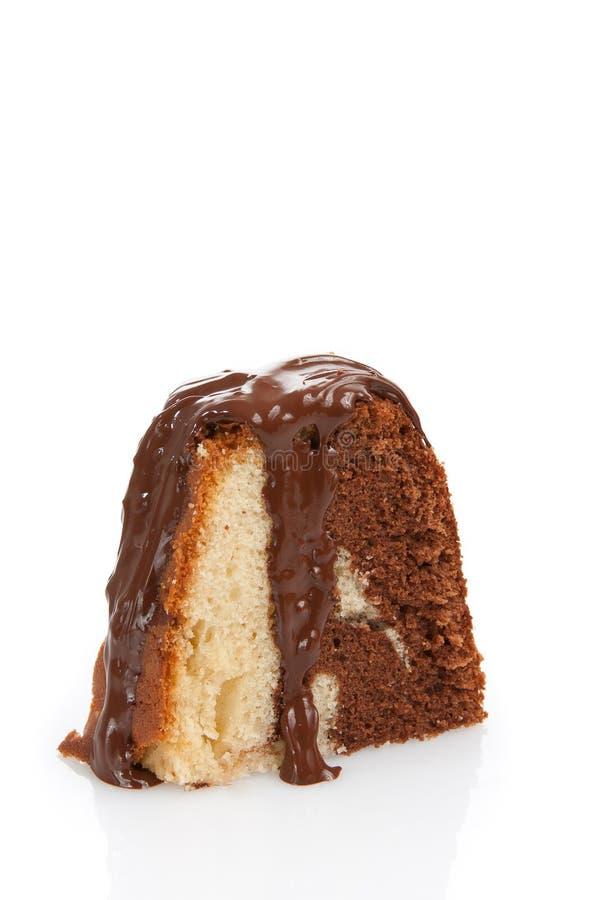 Marmeren Cake royalty-vrije stock afbeeldingen