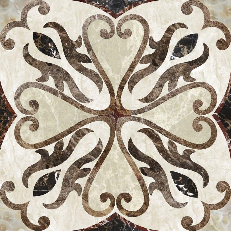 Marmeren decor bacground royalty-vrije stock afbeeldingen