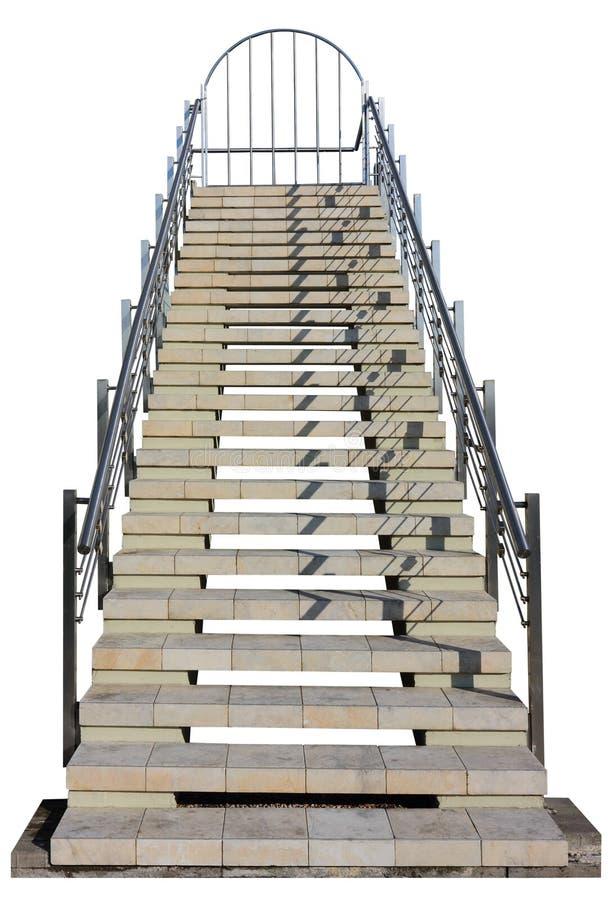 Marmeren geïsoleerde ladder stock afbeeldingen