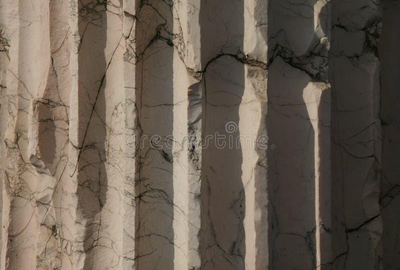 Marmeren kolom royalty-vrije stock fotografie