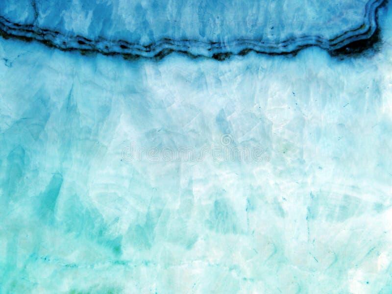 Marmeren luxetextuur en barst van lichte granietgem stock afbeeldingen