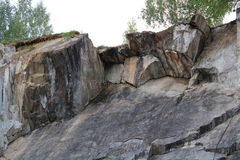 Marmeren muren vijf stock afbeelding