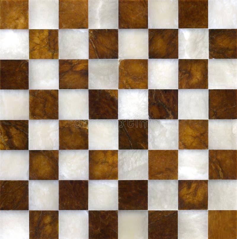 Marmeren schaakbord royalty-vrije stock foto