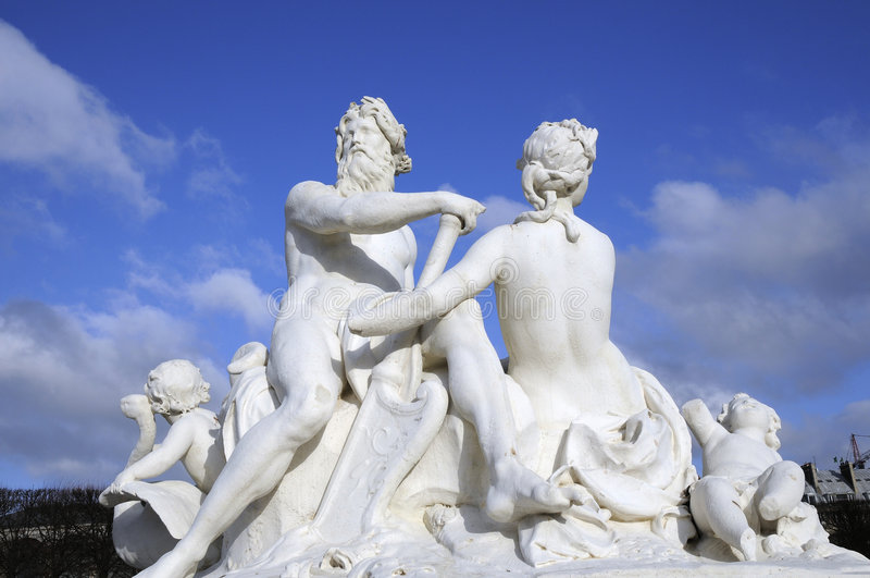 Marmeren standbeeld voor goddelijk royalty-vrije stock foto